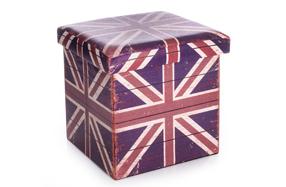 El puff más 'british' para tu hogar