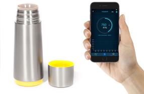 Smart cup: el termo bluetooth que te mantiene hidratado
