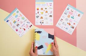 Las agendas más chulas con Stickers