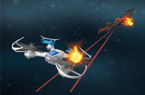Rc battle drone: Dos drones para competir en el aire
