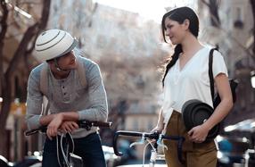 Closca: el casco para bici plegable de diseño