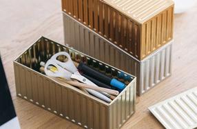 Container portuario para guardar pequeños objetos