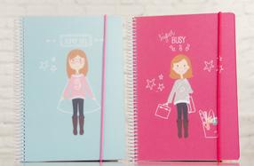 Cuadernos para chicas ocupadas