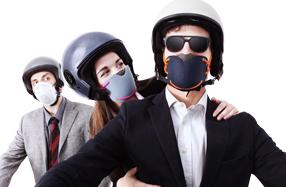 Máscaras antipolución de diseño
