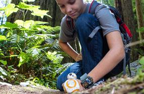 BB-8: el robot Droide controlado por la pulsera Force Band