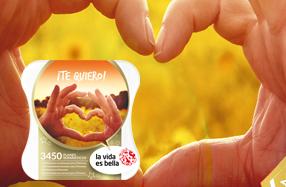 """""""Te quiero"""": el pack más romántico de La vida es bella"""