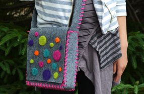 Kit DIY para crear tu propio bolso de fieltro