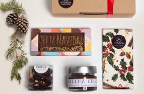"""Pack de chocolate gourmet """"Feliz Navidad"""""""