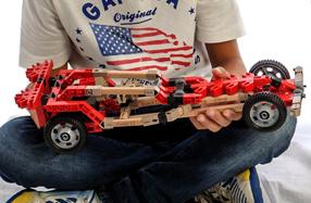 Juego para construir tu propio vehículo