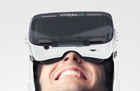 Gafas 3D de realidad virtual con auriculares integrados
