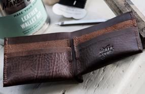 Kit para crear tu propia cartera de cuero