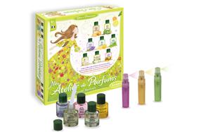 Kit infantil para hacer perfumes de flores frescas