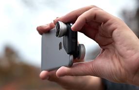 'Olloclip': 4 objetivos en 1 para el iPhone 6/6s/6 Plus/6s Plus