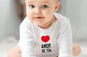 """Pack de ropita de bebé """"❤ Amor de tía"""""""