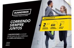 Caja de experiencias para parejas de runners