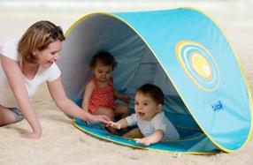 Tienda de playa multifunción para bebés