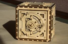 La caja fuerte de madera que construyes tú mismo