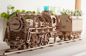 La locomotora de vapor que construyes tú mismo