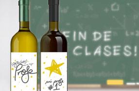 Pack de vino para profesores geniales