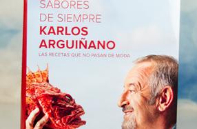 """""""Sabores de siempre"""": Nuevo libro de cocina de Karlos Arguiñano"""