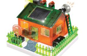 Kit para construir una casa con energía solar