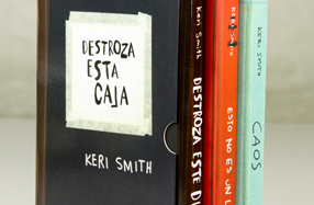"Pack ""Destroza esta caja"" de Keri Smith"