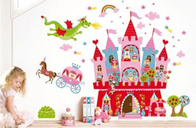 Murales imantados de piratas y princesas