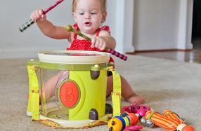 Set de instrumentos musicales Parum Pum Pum