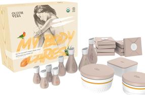 Kit para preparar tus propias cremas corporales
