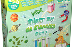 Súper kit de ciencias divertido y educativo
