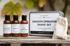 Kit para un afeitado suave