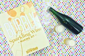 Kit para preparar tu propio vino espumoso