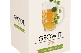 Kit para cultivar tu propia planta de cerveza