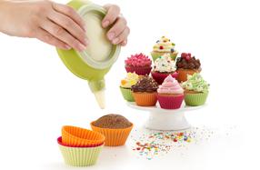 Kit de Lékué para hacer y decorar cupcakes