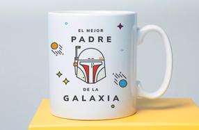 Taza para el mejor padre de la galaxia