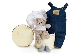 Canastilla de ropa de bebé Happy Casual