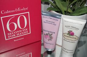 Conjunto de crema de manos y exfoliante de Crabtree&Evelyn