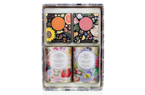 Pack de tés y galletas gourmet Crabtree & Evelyn