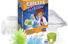 Fábrica de cristales preciosos para pequeños científicos