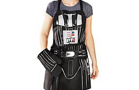Delantal de Darth Vader para fans de Star Wars