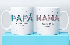 Tazas para papás y mamás desde...
