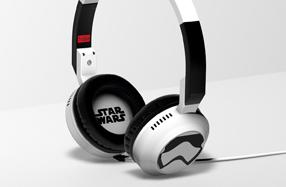 Auriculares plegables para fans de Star Wars