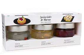 Kit de mermeladas gourmet especiales para patés y foie