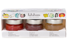 Kit de mermeladas gourmet especiales para quesos