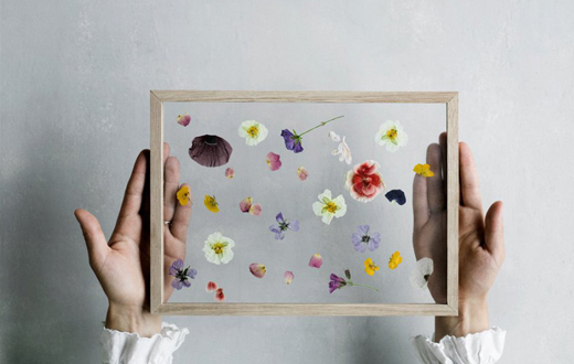 Decora con flores y plantas diy a tu estilo el blog de for Decoracion con hojas secas