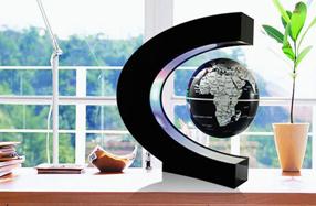 Globo magnético con luces LED