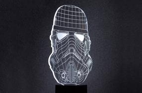 Lámpara de mesa 'Stormtrooper' de Star Wars