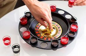 Ruleta de chupitos ¡Gira como en el casino y bebe!