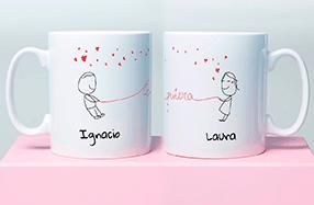 Taza personalizada para demostrarle tu amor