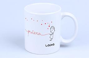 Tazas personalizadas para demostrarle tu amor